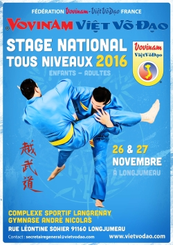 Stage National 2016