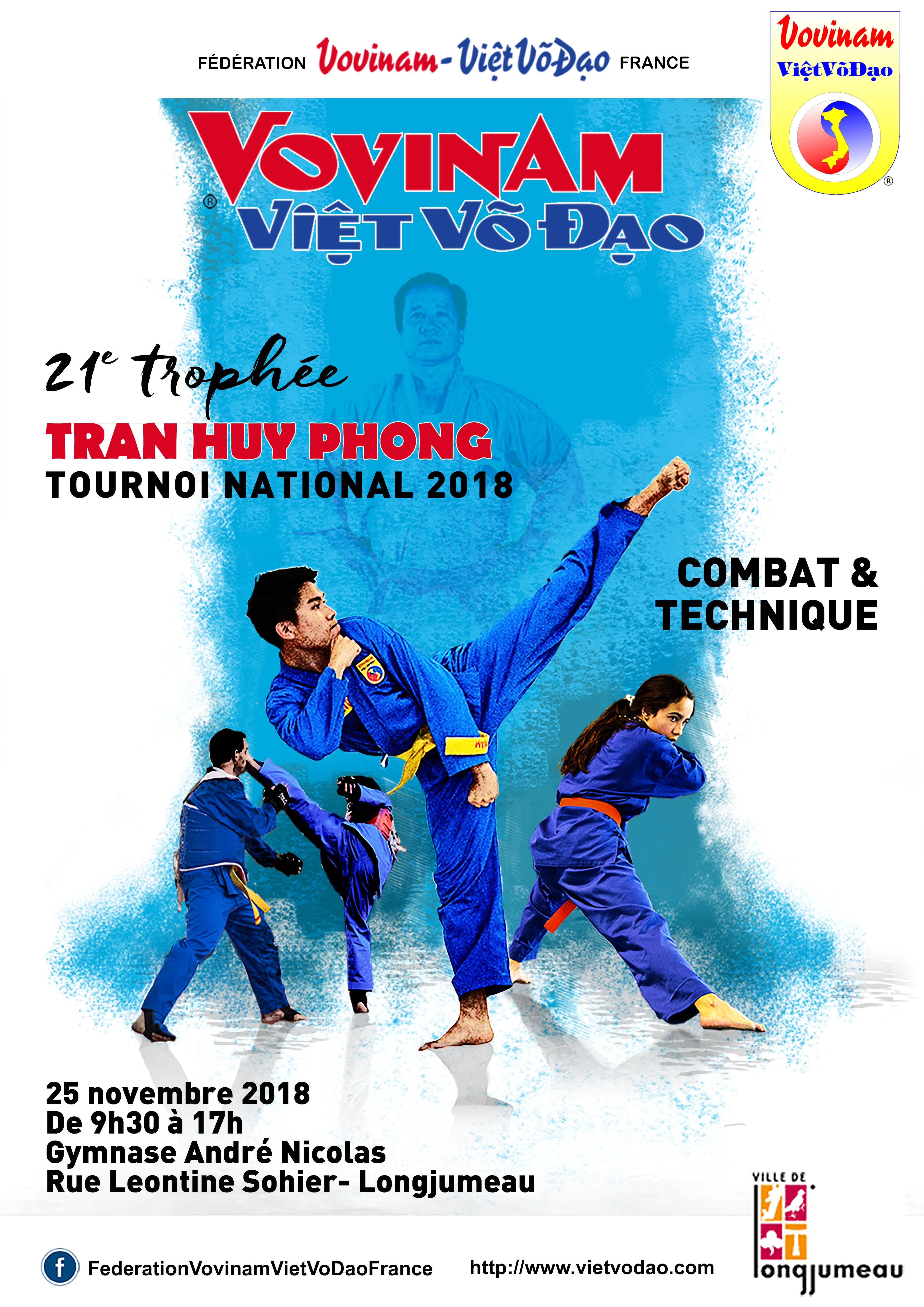Trophée TRAN Huy Phong 2018